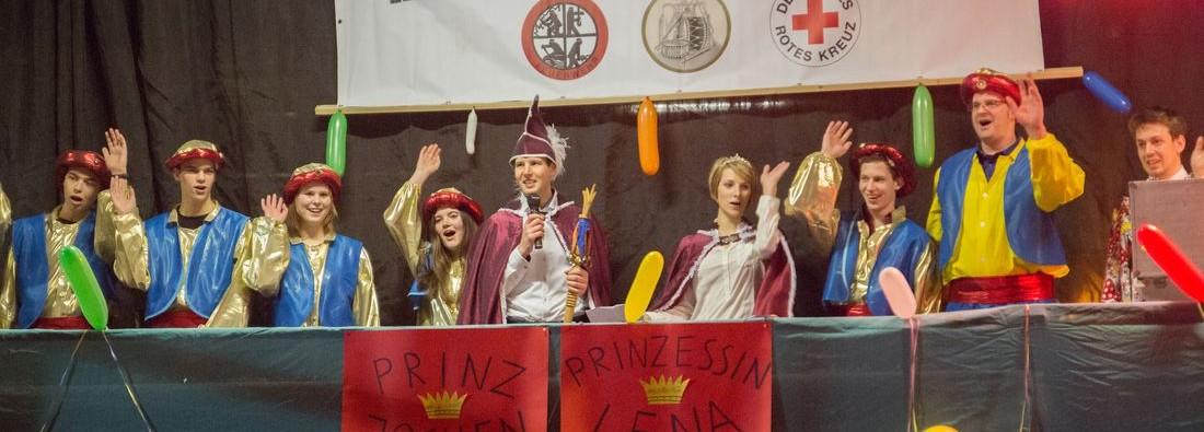 Prinz Jochen (Gescher) und Prinzessin Lena (Arends)